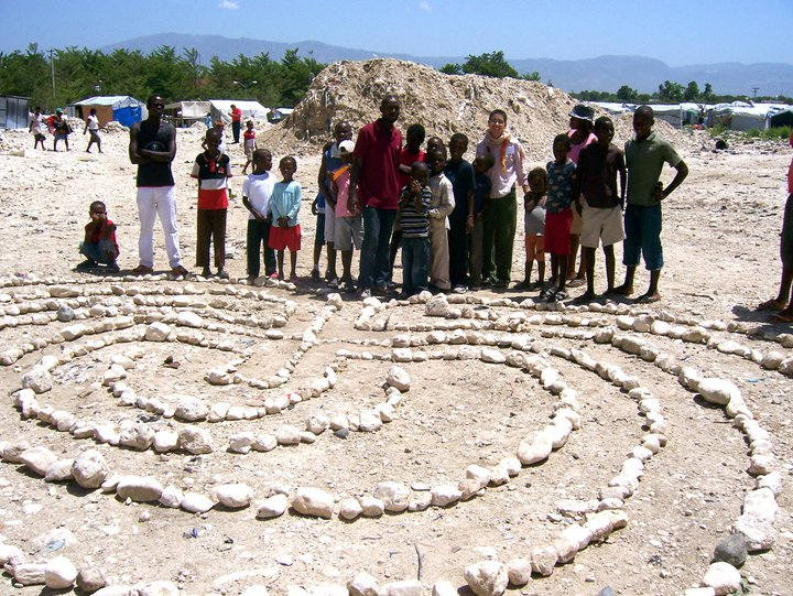 Rubble Labyrinth, Port of Prince Haiti