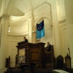 "Large Fabric Banner Collage ""Water"" ~ Pulpit Art Arlington Street Church, Boston MA"